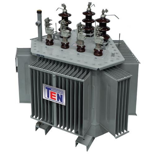 Tri-Dimensional Oil-Immersed Transformer